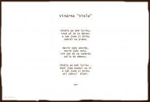 Vinárna Viola
